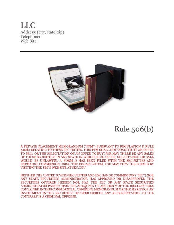 PPM LLC 506b