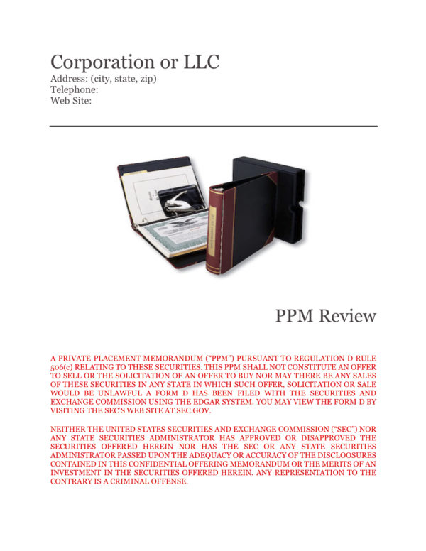 reg d ppm Review