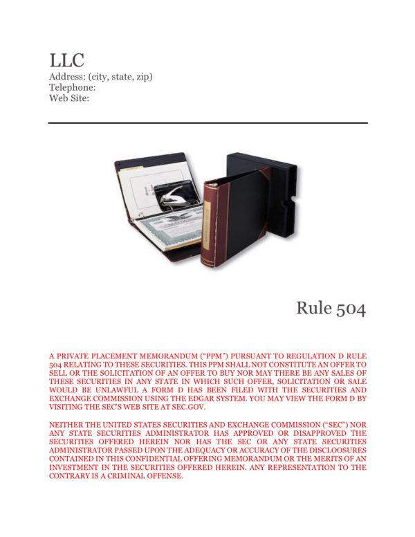 PPM LLC 504